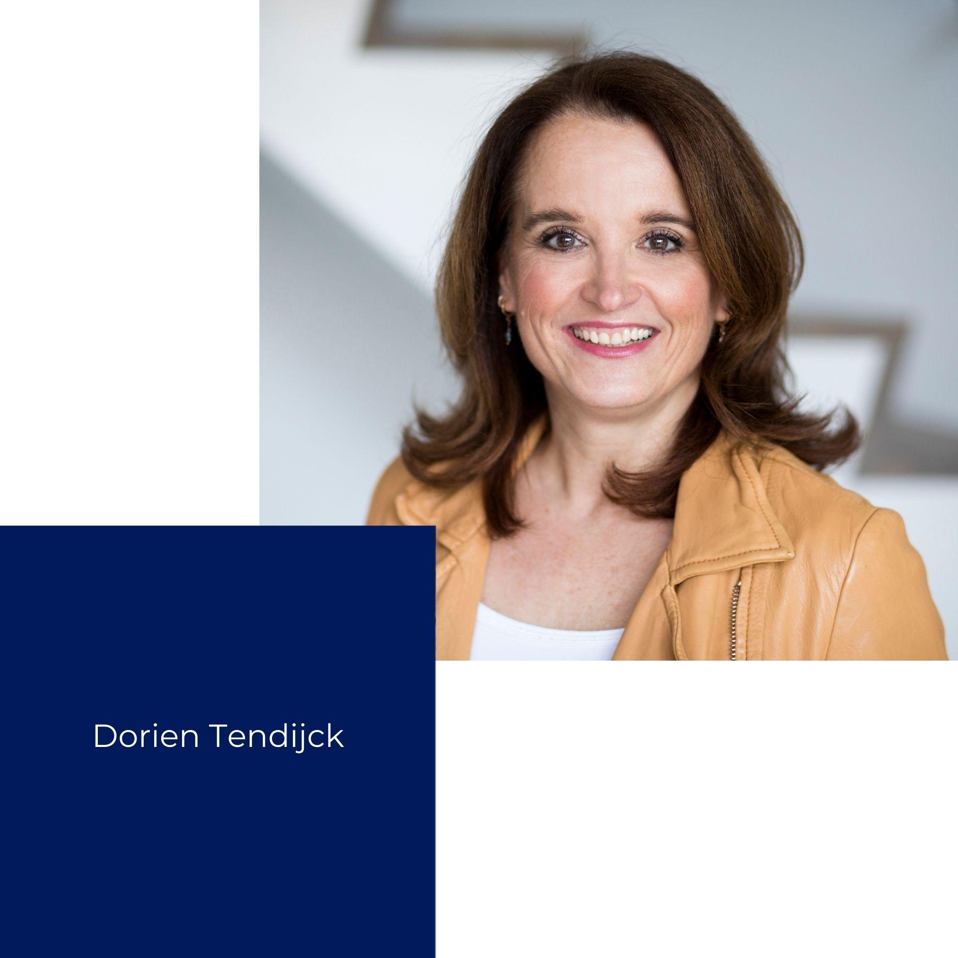 Dorien Tendijck website ontwikkeling